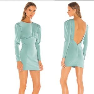 NEW NBD X REVOLVE Viva Long Sleeve Mini Dress
